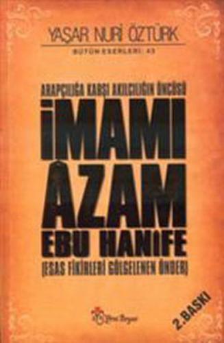İmamı Âzam Ebu Hânife-CİLTLİ