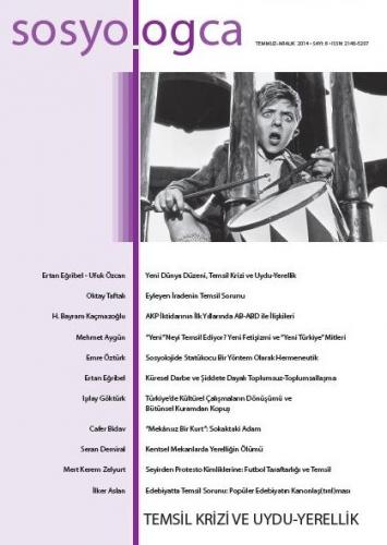 Sosyologca Dergisi, Sayı: 8 Günümüz Sosyolojisi Tartışmaları: Temsil K
